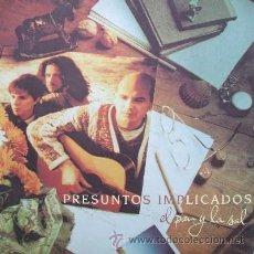 Discos de vinilo: PRESUNTOS IMPLICADOS - EL PAN Y LA SAL (D/ GRUPESP- 009). Lote 8361309