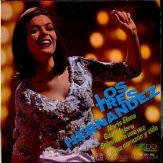 Discos de vinilo: LOS TRES HERNÁNDEZ - MARÍA ELENA / GUADALAJARA / SOLAMENTE UNA VEZ - EP 1968 - COMO NUEVO. Lote 20041061