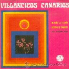 Dischi in vinile: CORAZONES UNIDOS - VILLANCICOS CANARIOS - EP RARO DE 1971 - FOLCLORE DE CANARIAS. Lote 8423045