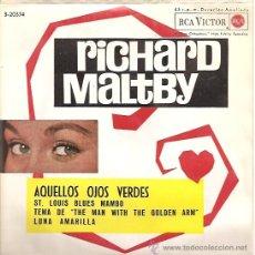 Discos de vinilo: RICHARD MALTBY EP SELLO RCA VICTOR AÑO 1962. Lote 8451780