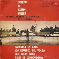 Discos de vinilo: GLENN MILLER Y SU ORQUESTA EP SELLO RCA VICTOR AÑO 1964. Lote 8451852