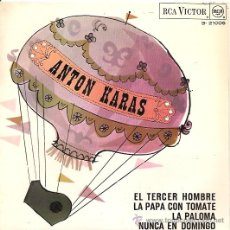 Discos de vinilo: ANTON KARAS EP SELLO RCA VICTOR AÑO 1966. Lote 8451869