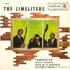 Discos de vinilo: THE LIMELITERS EP SELLO RCA VICTOR AÑO 1962 EDITADO EN ESPAÑA. Lote 8460657