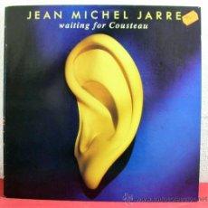 Discos de vinilo: JEAN MICHEL JARRE ( WAITING FOR COUSTEAU ) HOLANDA.-1990 LP33 POLYDOR. Lote 8471664