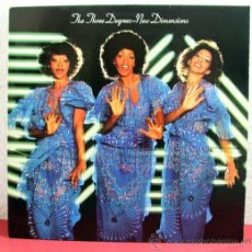 Discos de vinilo: THE THREE DEGREES ( NEW DIMENSIONS ) GERMANY - 1978 LP33 ARIOLA. Lote 8471752