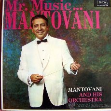 Discos de vinilo: LP - MANTOVANI - MR. MUSIC - ORIGINAL ESPAÑOL, DECCA 1974. Lote 8512859