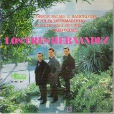 Discos de vinilo: LOS TRES HERNANDEZ - TRES COSAS + 3 EP **+ EKIPO 1968. Lote 11354861