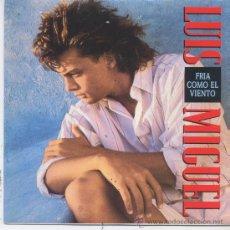 Disques de vinyle: LUIS MIGUEL,FRIA COMO EL VIENTO,DEL 89,PROMO. Lote 8559365