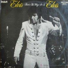 Discos de vinilo: ELVIS PRESLEY : THAT'S THE WAY IT IS. RCA LSP 4445. 1971. Lote 8560730