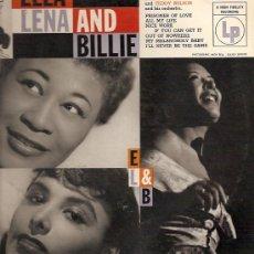 Discos de vinilo: ELLA FITZGERALD / LENA HORNE / BILLIE HOLLIDAY, 10¨(25 CTMS.) DEL SELLO COLUMBIA EDICCIÓN AMERICANA. Lote 8565882