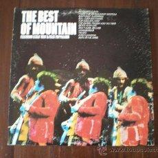 Discos de vinilo: MOUNTAIN - THE BEST OF MOUNTAIN - (USA-WINDFALL COLUMBIA-1973) HARD ROCK LP. Lote 21006986