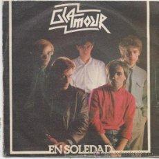 Discos de vinilo: GLAMOUR,EN SOLEDAD,DEL 82. Lote 8568160