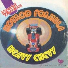 Discos de vinilo: HOTROD FORMULA - HEAVI CHEVI PART 1 / PART 2 - SINGLE ESPAÑOL DE 1976. Lote 8584319