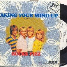 Discos de vinilo: BUCKS FIZZ: MAKING YOUR MIND UP (INGLATERRA 1981). Lote 18229269