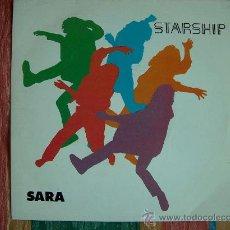 Dischi in vinile: STARSHIP - SARA / HEARTS OF THE WORLD - SINGLE PROMOCIONAL ESPAÑOL DE 1985. Lote 8600886