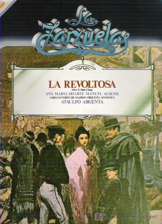 LA ZARZUELAS - LA REVOLTOSA NUM 7 1979 (Música - Discos - LP Vinilo - Clásica, Ópera, Zarzuela y Marchas)
