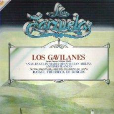 Discos de vinilo: LA ZARZUELA - LOS GAVILANES ** NUM 4. Lote 8609191
