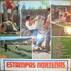 Discos de vinilo: RONDALLA BIDASOA / PEDRO MATEO Y BABIL IRISO / OCHOTE LAGUN ALAIAK - ESTAMPAS NORTEÑAS - LP 1968. Lote 11520591
