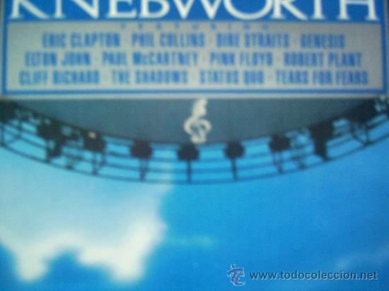 KNEBWORTH,VARIOS,DEL 90,2 LP (Música - Discos - LP Vinilo - Pop - Rock Internacional de los 90 a la actualidad)
