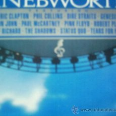 Disques de vinyle: KNEBWORTH,VARIOS,DEL 90,2 LP. Lote 28157214