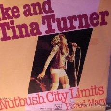 Discos de vinilo: IKE AND TINA TURNER ---- NUTBUSH CITY LIMITS. Lote 8622547