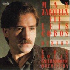 Discos de vinilo: LUIS COBOS-MAS ZARZUELA III SINGLE VINILO PROMO 1985. Lote 8622844