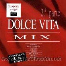 Discos de vinilo: LPX2 - DOLCE VITA MIX 2ª PARTE - THE HISTORY OF DISCO MUSIC (FIRMADO POR J.Mª CASTELLS). Lote 8624487