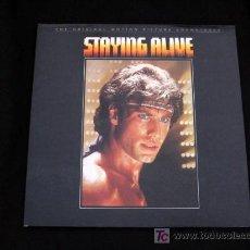 Discos de vinilo: STAYING ALIVE BANDA SONORA ORIGINAL 1983 THE BEE GEES RSO POLYDOR ESPAÑA. Lote 11387078