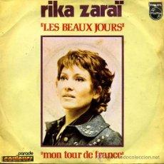 Disques de vinyle: RIKA ZARAI - LES BEAUX JOURS . Lote 8649776