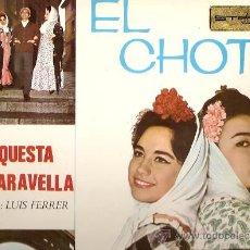 Discos de vinilo: ORQUESTA MARAVELLA LP SELLO ZAFIRO AÑO 1965 EL CHOTIS, 2 HOJAS CON TEXTO Y FOTOS.. Lote 8671873