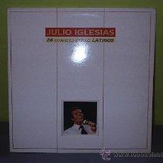 Discos de vinilo: JULIO IGLESIAS 28 GRANDES EXITOS. Lote 26496853