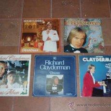 Discos de vinilo: LOTE DE 5 DISCOS DE RICHARD CLAYDERMAN (OFERTA). Lote 8691742