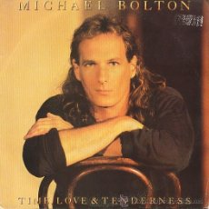 Discos de vinilo: MICHAEL BOLTON SINGLE. Lote 26557117