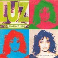 Discos de vinilo: LUZ SINGLE. Lote 26598808