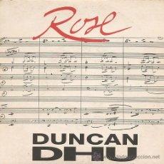 Discos de vinilo: DUNCAN DHU SINGLE. Lote 26598807
