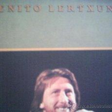 Discos de vinilo: BENITO LERTXUNDI,MAULEKO BIDEAN IZATEAREN MUGAGABEAN,DEL 87. Lote 8696387