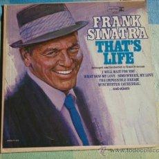 Discos de vinilo: FRANK SINATRA ( THAT'S LIFE ) NEW YORK - USA LP33 REPRISE RECORDS. Lote 8801037