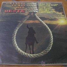 Discos de vinilo: GRANDES TEMAS DEL OESTE-LP DE 1976. Lote 8809998