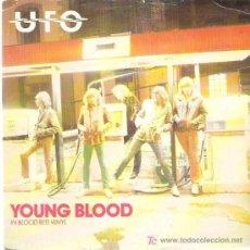 Discos de vinilo: UFO - YOUNG BLOOD EN VINILO ROJO / NO PLAYS TO RUN ** EDICION INGLESA CHRYSALIS 1980. Lote 12912815