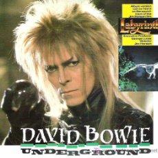 Discos de vinilo: DAVID BOWIE - UNDERGROUNG ** EMI 1986. Lote 13983252