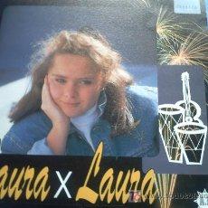 Discos de vinilo: LAURA X LAURA:VIVIR PARA CANTAR+FANDANGOS DE LAURA/SINGLE/91 NUEVO!!. Lote 10984366