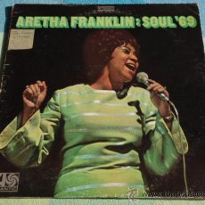 Discos de vinilo: ARETHA FRANKLIN ( SOUL '69 ) NEW YORK - USA 1969 LP33 ATLANTIC. Lote 8826056