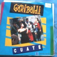 Discos de vinilo: GARIBALDI:CUATE/ EXTRAIDO EL LP MEX -MIX/SINGLE /89 PEPETO. Lote 17680183