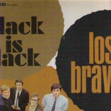 Discos de vinilo: LOS BRAVOS - BLACK IS BLACK ***** ALBUM DEBUT DE LOS BRAVOS EN AMERICA 1966 MUY BUENO. Lote 19154208