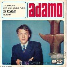 Discos de vinilo: EP ORIGINAL DE ADAMO. Lote 20004387