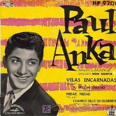Discos de vinilo: EP ORIGINAL DE PAUL ANKA. Lote 20533100