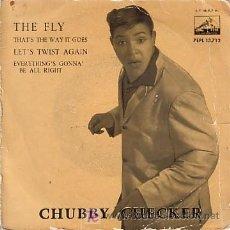 Discos de vinilo: EP ORIGINAL DE CHUBBY CHECKER. Lote 20004385