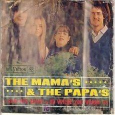 Discos de vinilo: SINGLE ORIGINAL DE THE MAMAS & THE PAPAS. Lote 20328775