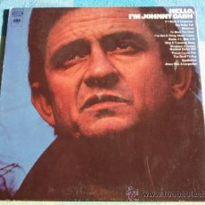 Discos de vinilo: JOHNNY CASH ( HELLO, I'M JOHNNY CASH ) NEW YORK - USA LP33 COLUMBIA. Lote 8860979