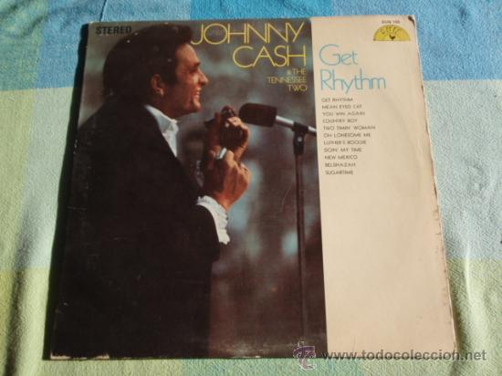 Discos de vinilo: JOHNNY CASH & THE TENNESSEE TWO ( GET RHYTHM ) NASHVILLE - USA LP33 SUN - Foto 1 - 8861264